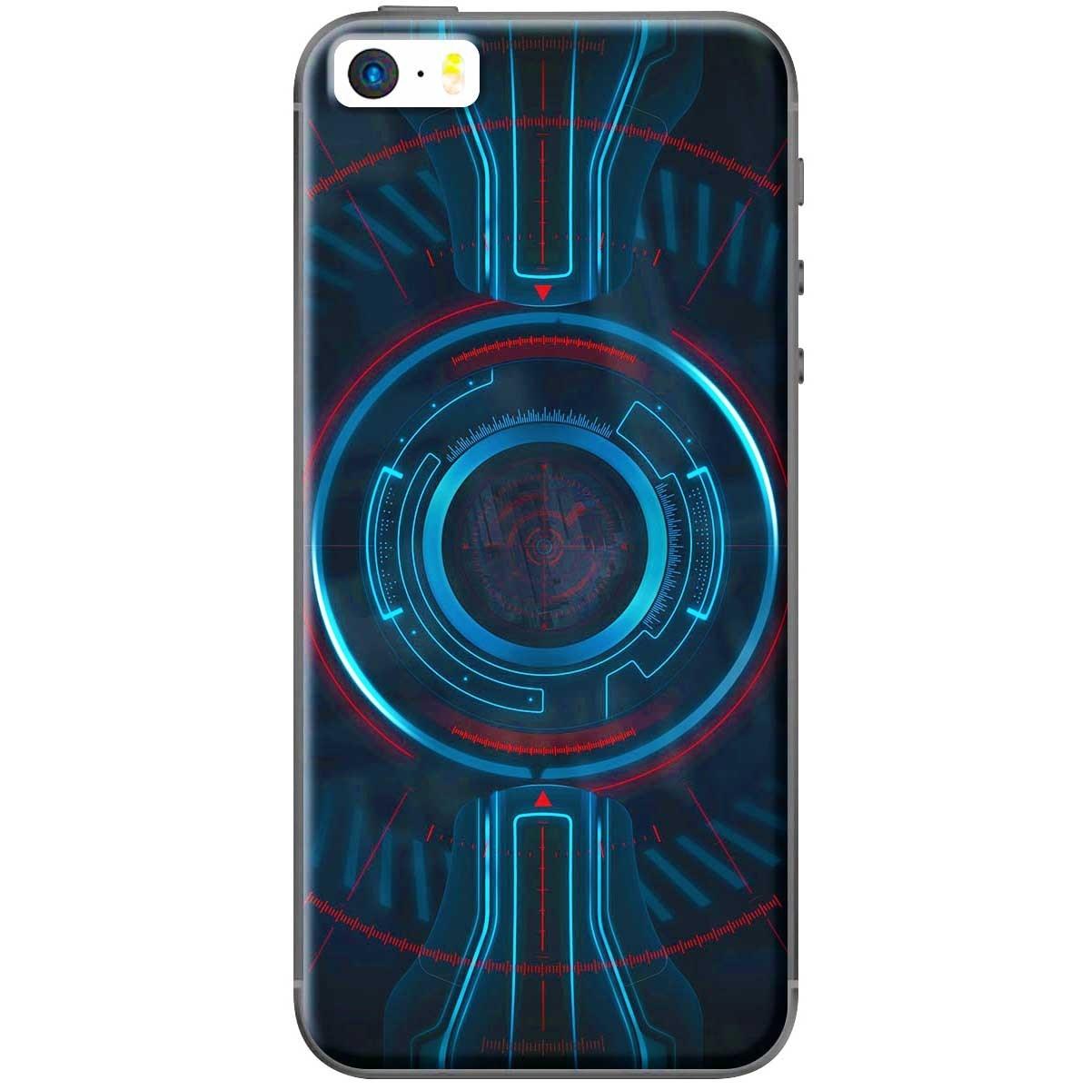 Ốp lưng iPhone 5, iPhone 5S Vòng tròn xanh